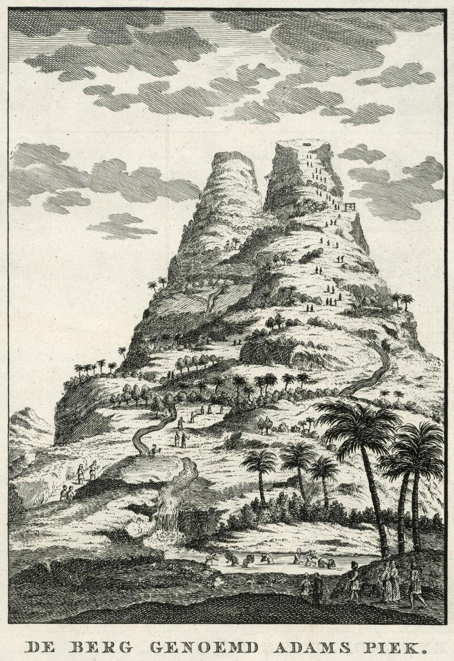_Adam's_Peak Early Dutch depiction